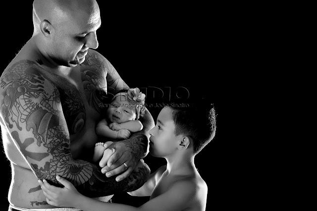fotos de papais tatuados