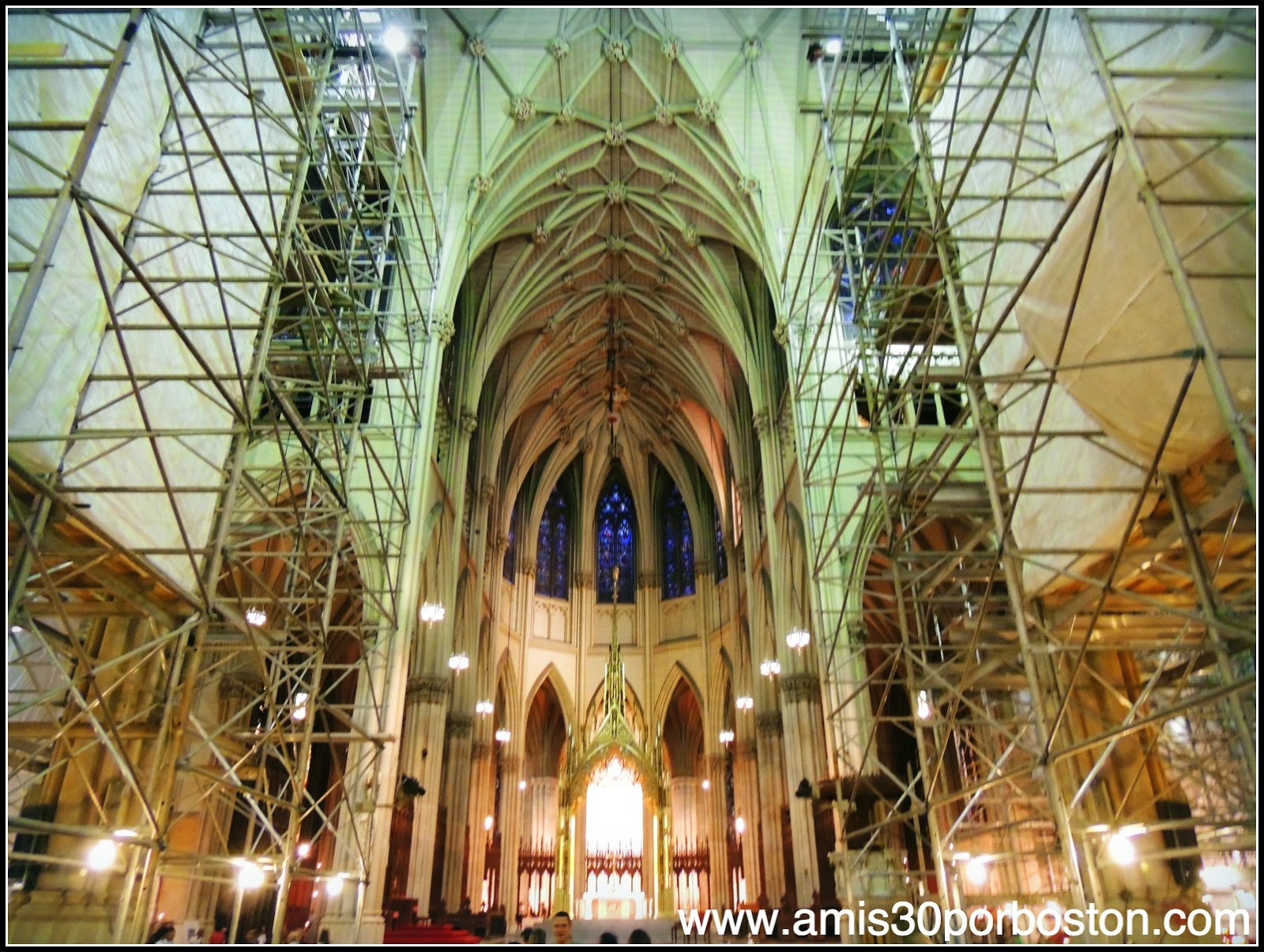 Segunda Vista a Nueva York: Catedral de San Patricio