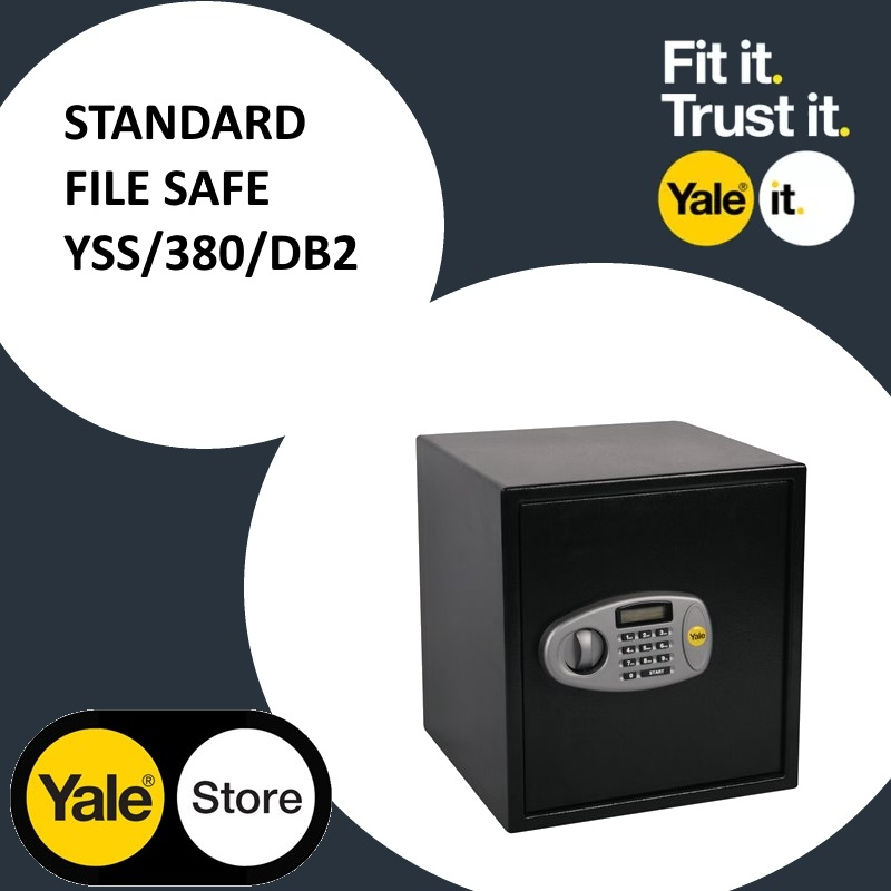 Yale Standard File Digital Safe YSS/380/DB2 Promo @ RM 1090