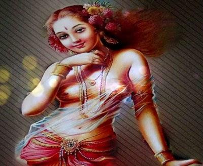 Dewi Rati istri dari Dewa Kama