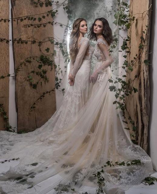 Sesja ślubna z sukniami dostępnymi w salonie Vogue&She.