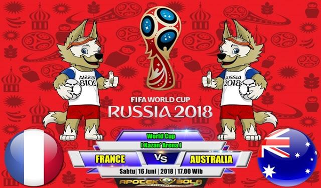 Prediksi France vs Australia 16 Juni 2018