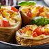 Recette Pommes de terre farcies à la tomate et au fromage à raclette