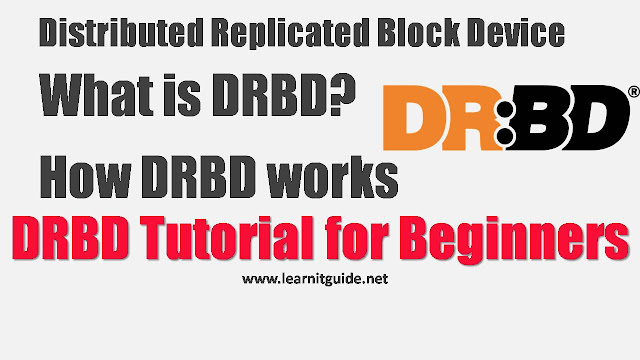 What is DRBD, How DRBD works - DRBD Tutorial for Beginners