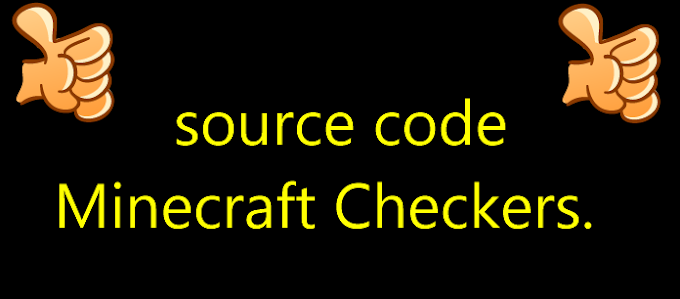 source code Minecraft Checkers