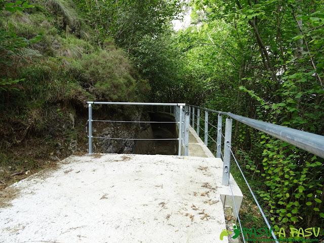Canal de Reñinuevo: Zona nueva
