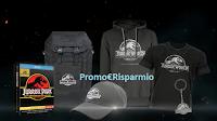 Logo Gioca con Euronics e vinci gratis Kit Jurassic World e boxset ''Gate Edition''