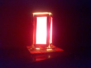 Keren Membuat Lampu Tidur | Kerajinan Lampion Stik Es krim Part3