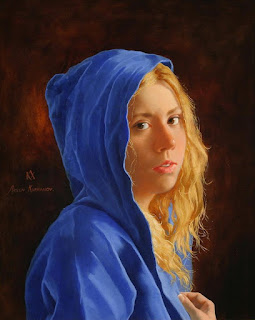 mujeres-pinturas-realistas-oleo realismo-mujeres-pinturas