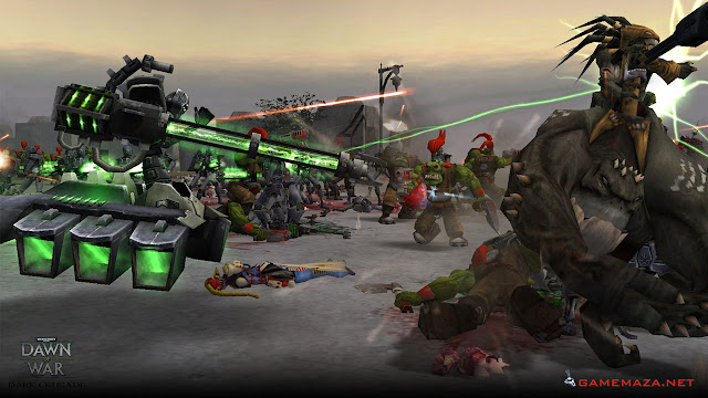 Warhammer 40000 Dawn of War Dark Crusade Gameplay Screenshot 1