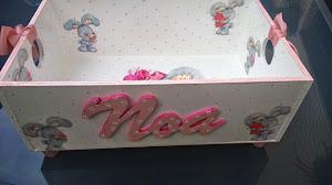 Caja para los juguetes de Noa