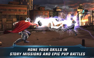 Screenshot: MARVEL Avengers Academy for Android