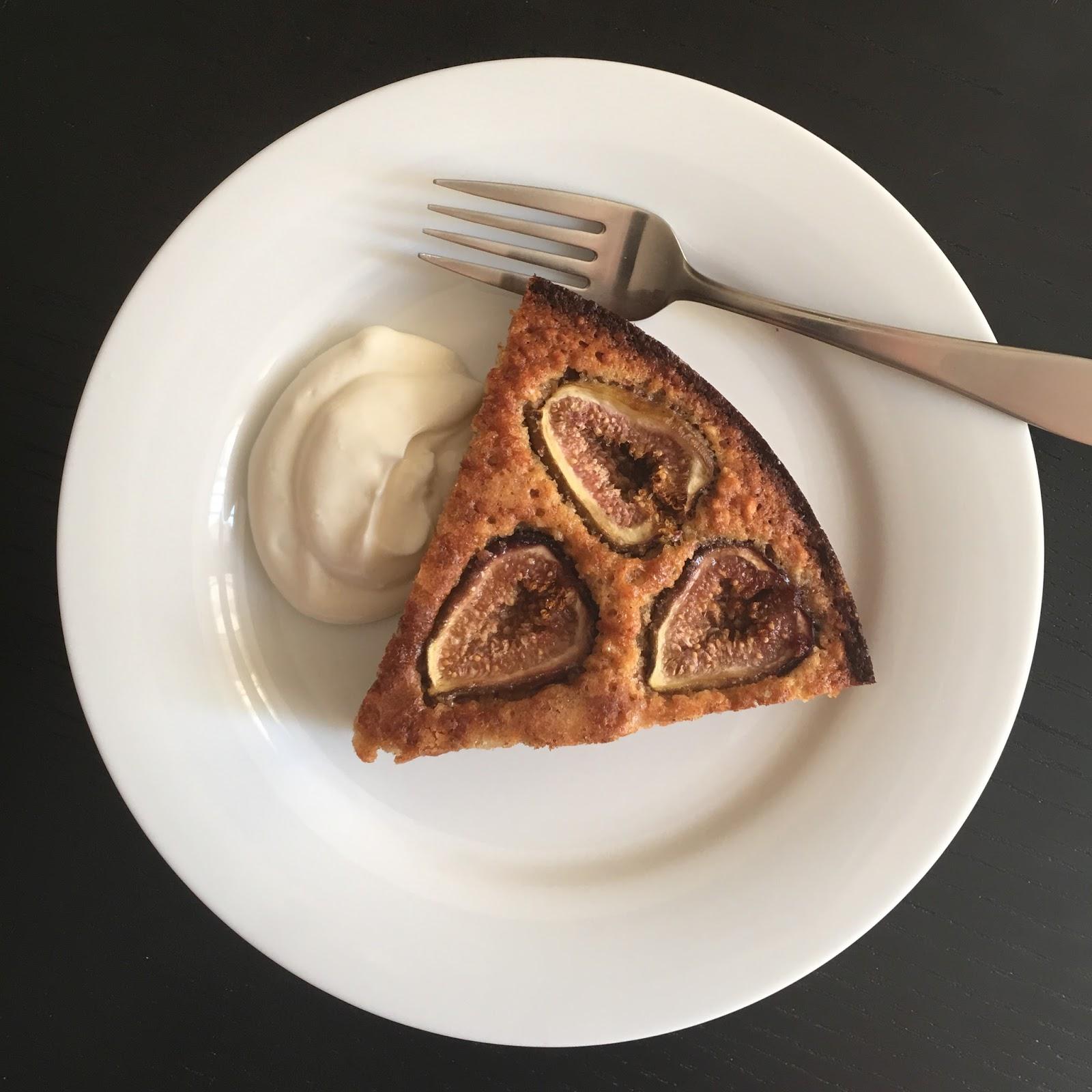 Fig & Almond Cake