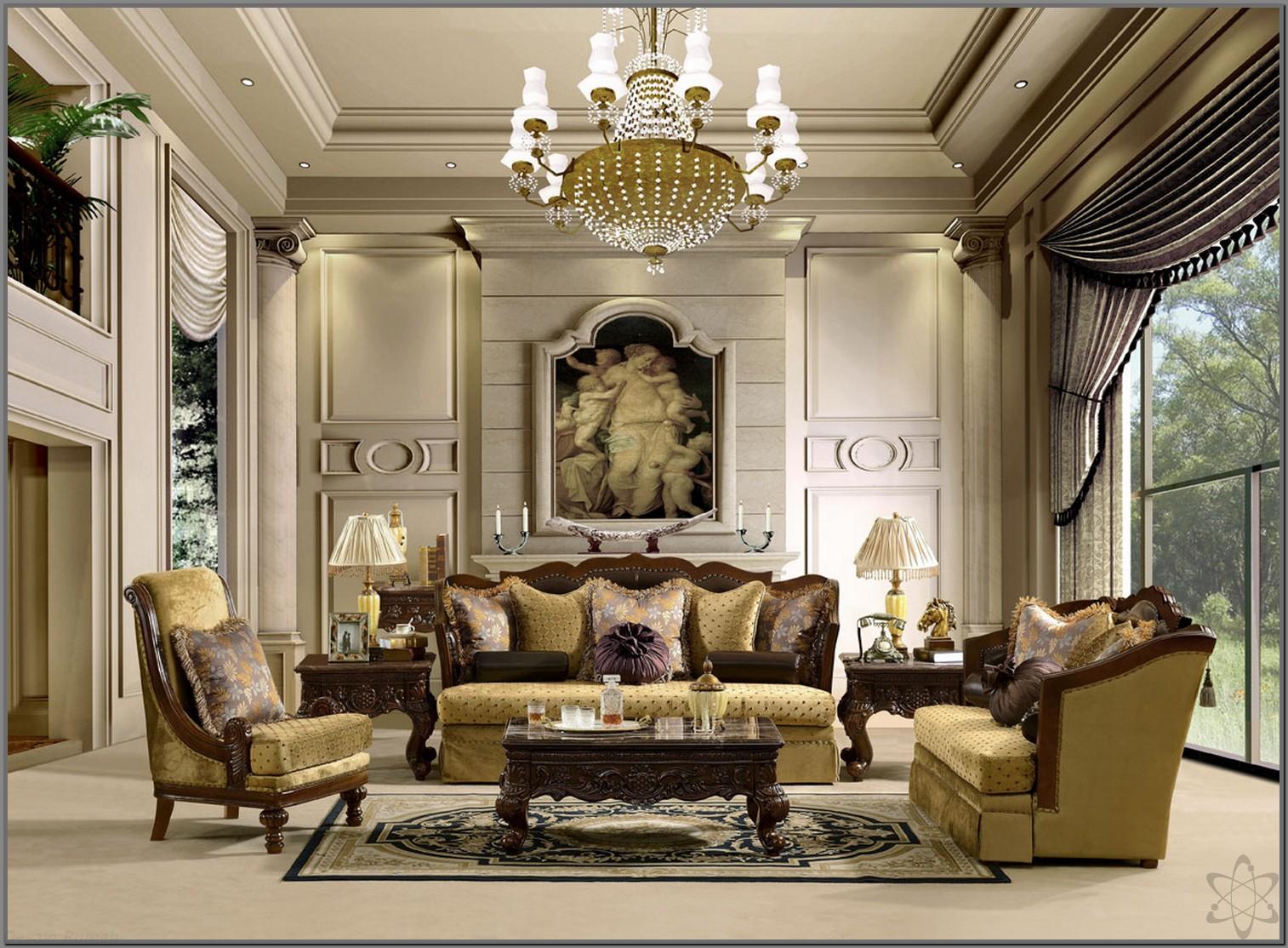 64 Ide Desain Interior Ruang Tamu Mewah Rumahku Unik
