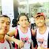 "Team Runner Rocky Trio ""GO PINK"" on The Pink Run 2016"