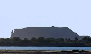 Imagen del cerro de Gebel Barkal