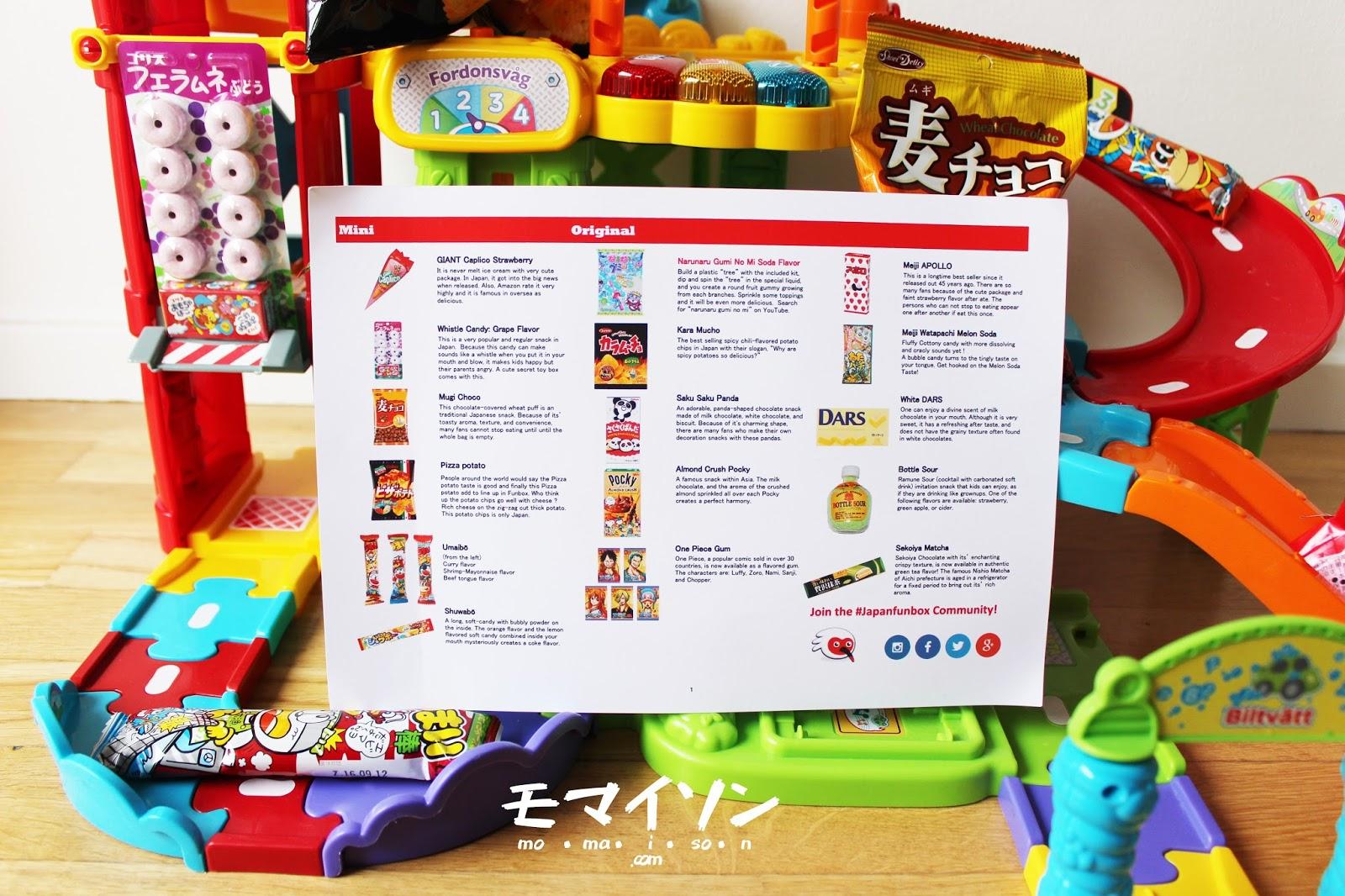 Japan Fun Box: May Mini Box Unbox & Review   Mo Maison
