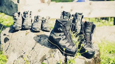 10 tips dalam memilih sepatu gunung
