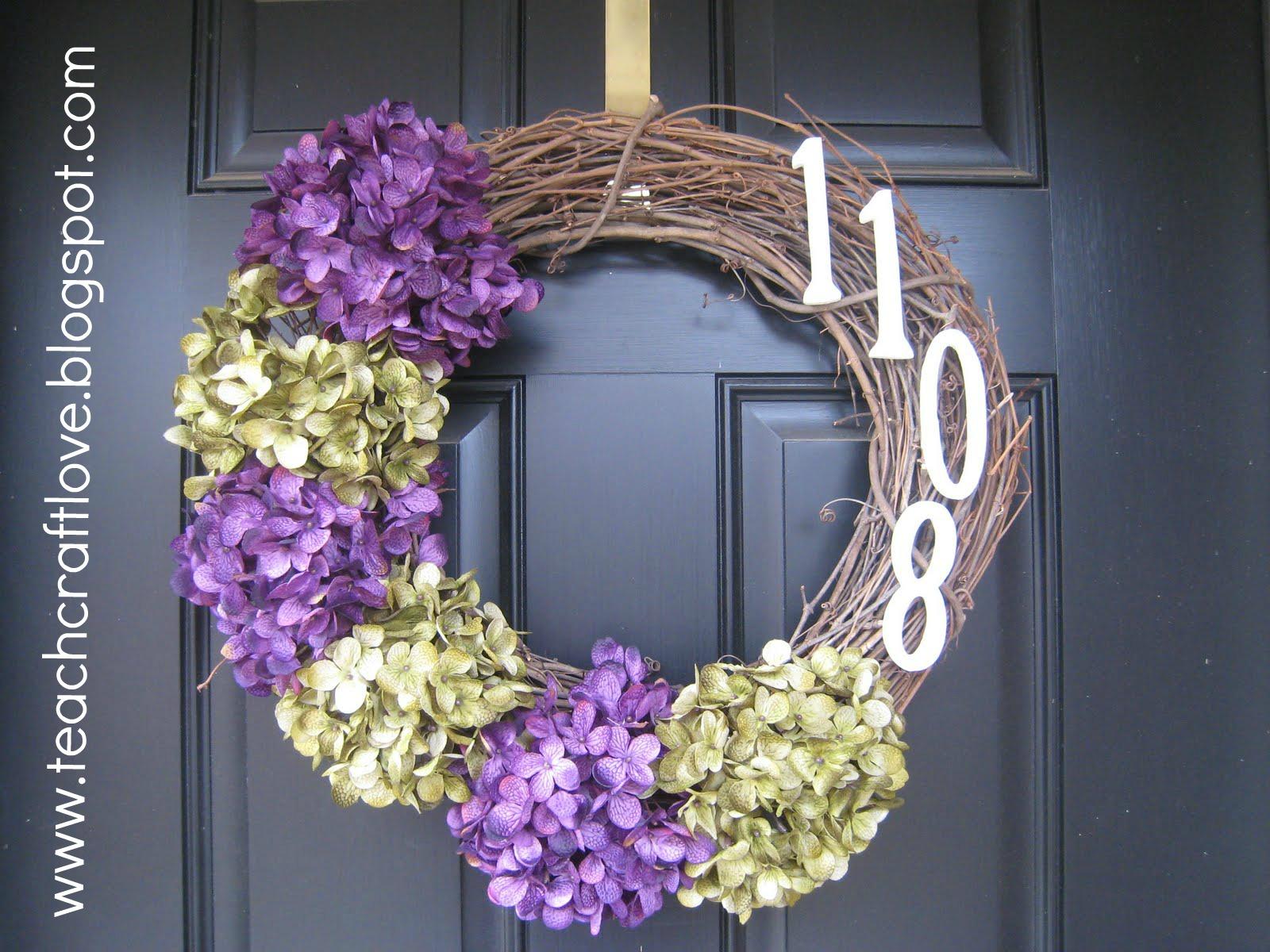 teach. craft. love.: Front Door Wreaths
