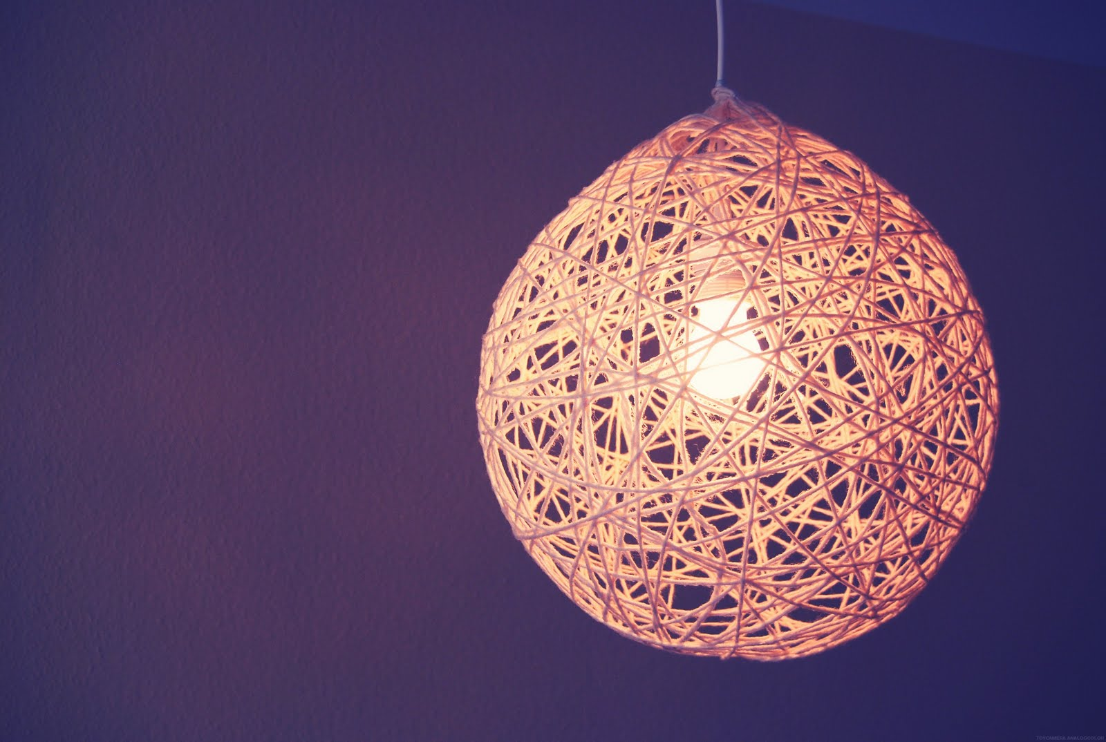 lampenschirm basteln luftballon. Black Bedroom Furniture Sets. Home Design Ideas