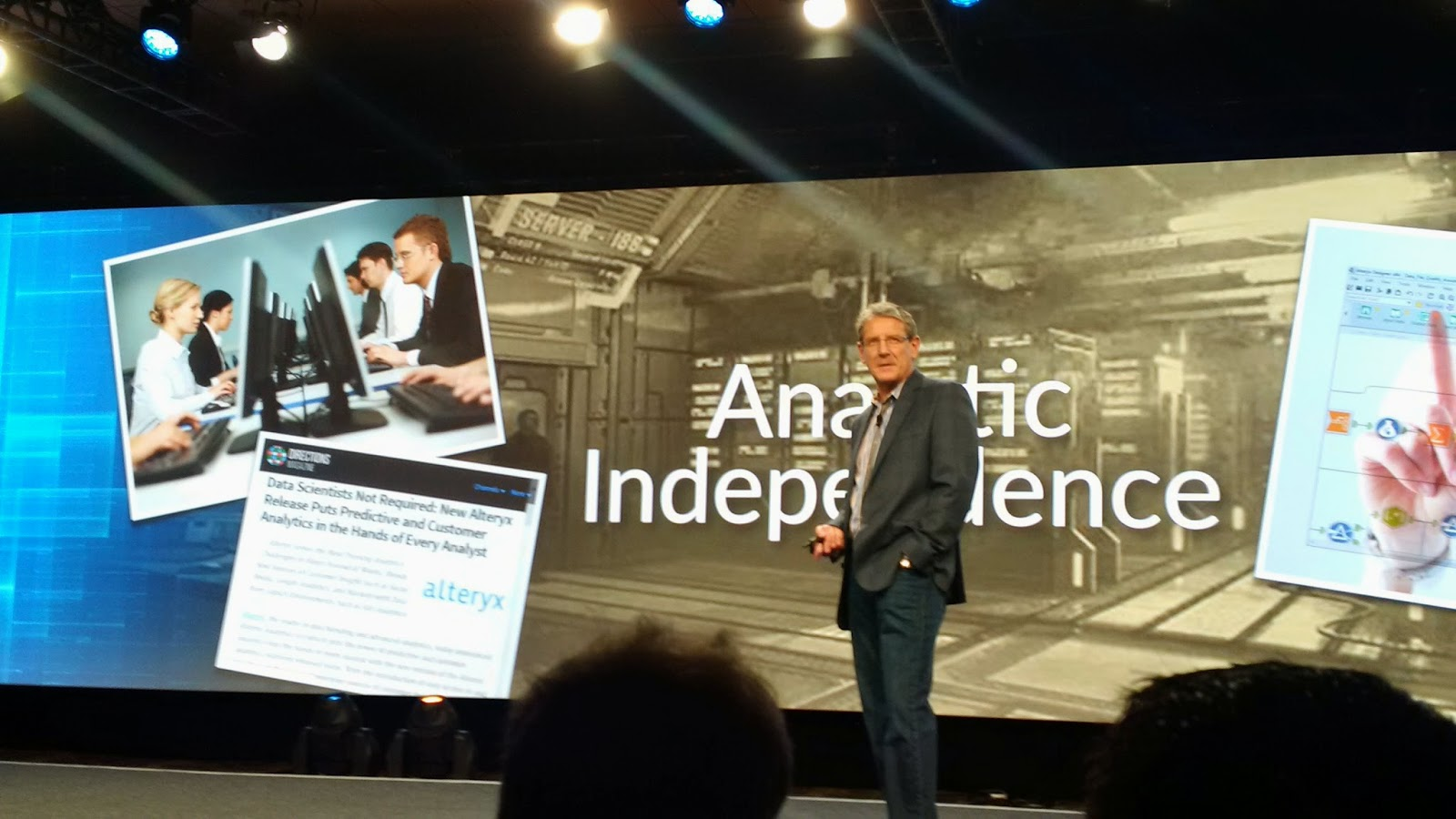 Event Report - Alteryx Inspire - Positive Growth on Product, Go to