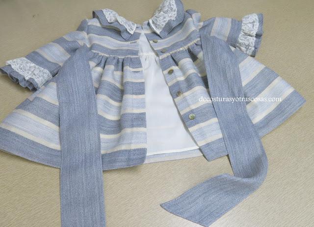 vestido con lazo ancho tutorial