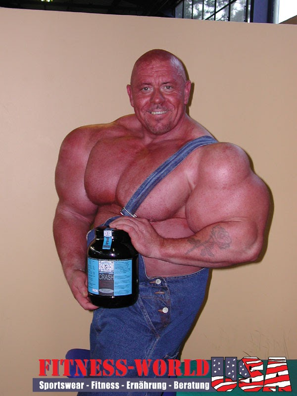 STRENGTH FIGHTER™: Klaus Doring synthol junkie