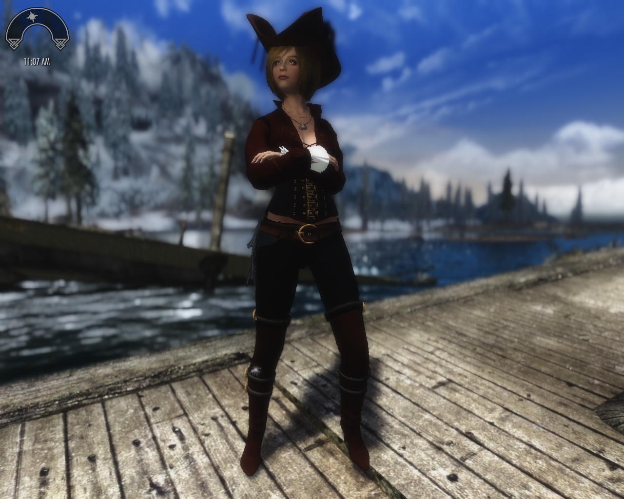 TES 5 Stuff: Captain Molly Outfit - STEAM Release