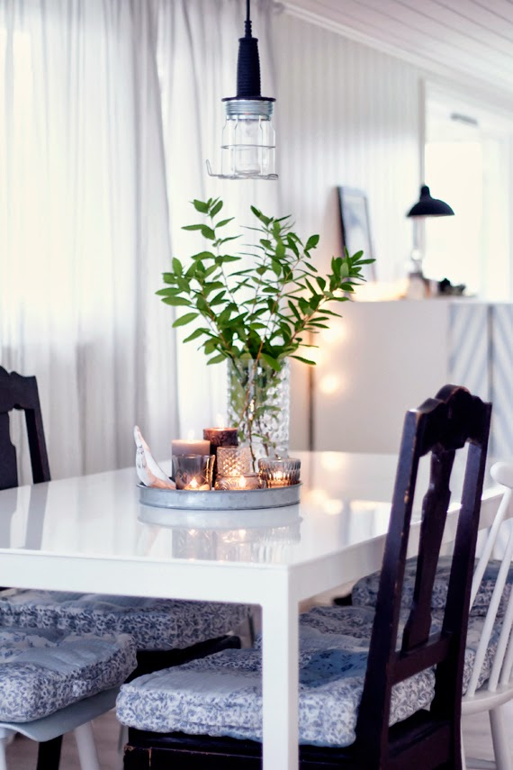 Casas cocinas mueble alfombras animal print for Centros de mesa para comedor