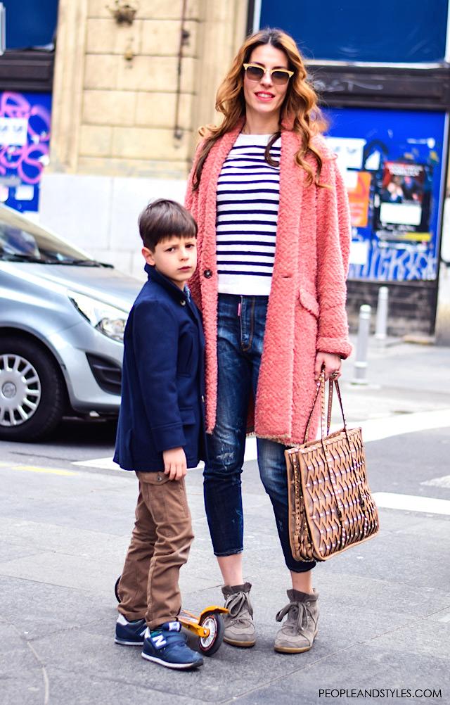 Helena Mitrović sa sinom, liječnica