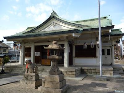 野里住吉神社拝殿