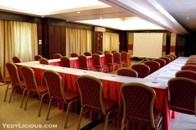 Function Room at Boracay Mandarin Island Hotel Philippines