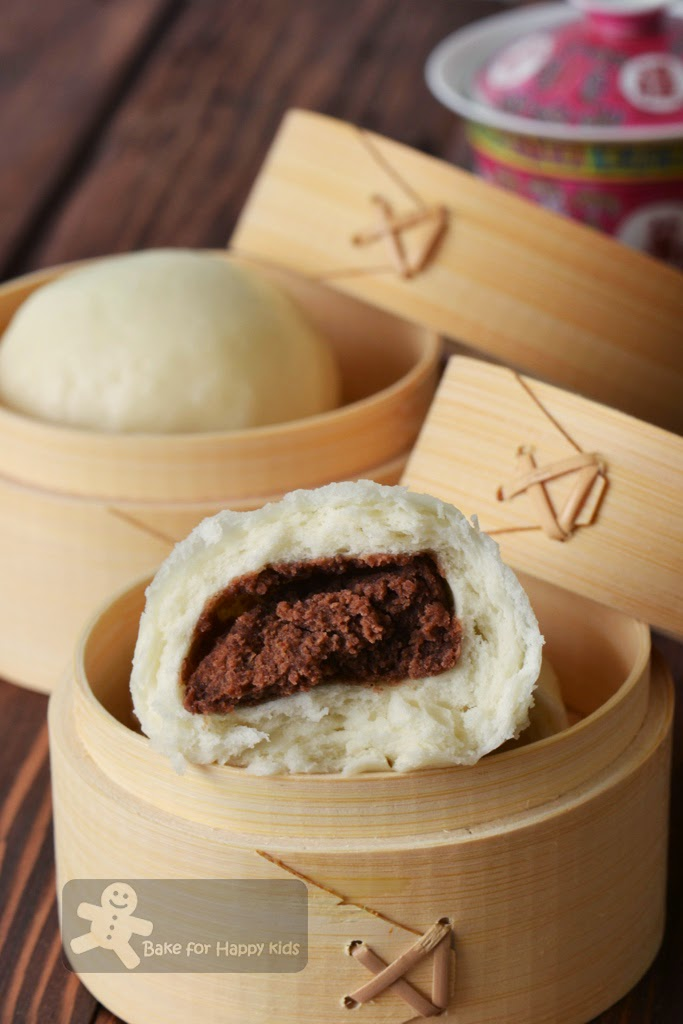 Red Bean Steamed Buns Dou sha bao