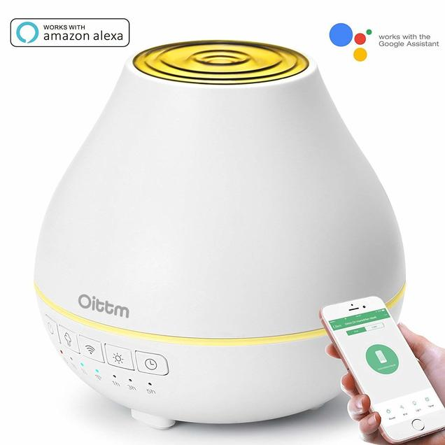 Save 40% On Oittm Smart WiFi Aroma Essential Oil Diffuser