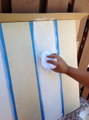 how to whitewash wood walls, plywood wall planks, DIY whitewash application, whitewash shiplap walls