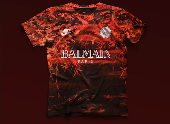 watch 11983 58346 Five Nike Paris Saint-Germain Concept Kits by mbroidered ...