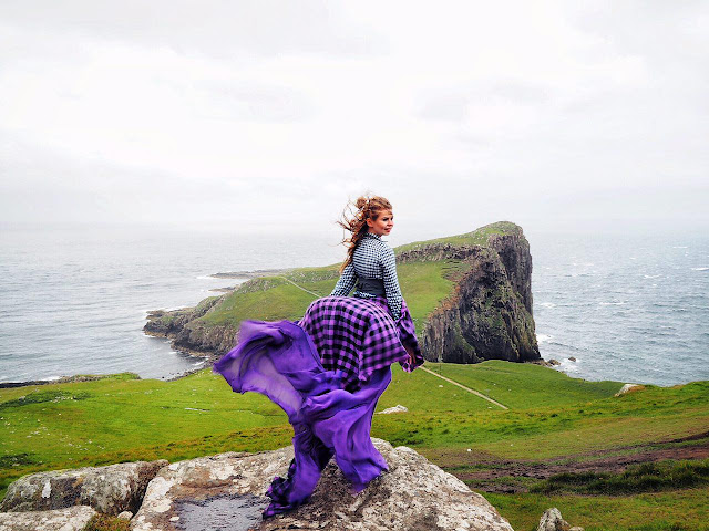 #MydressStories by ninelly from Scotland образ шотландки фотосессия в платье