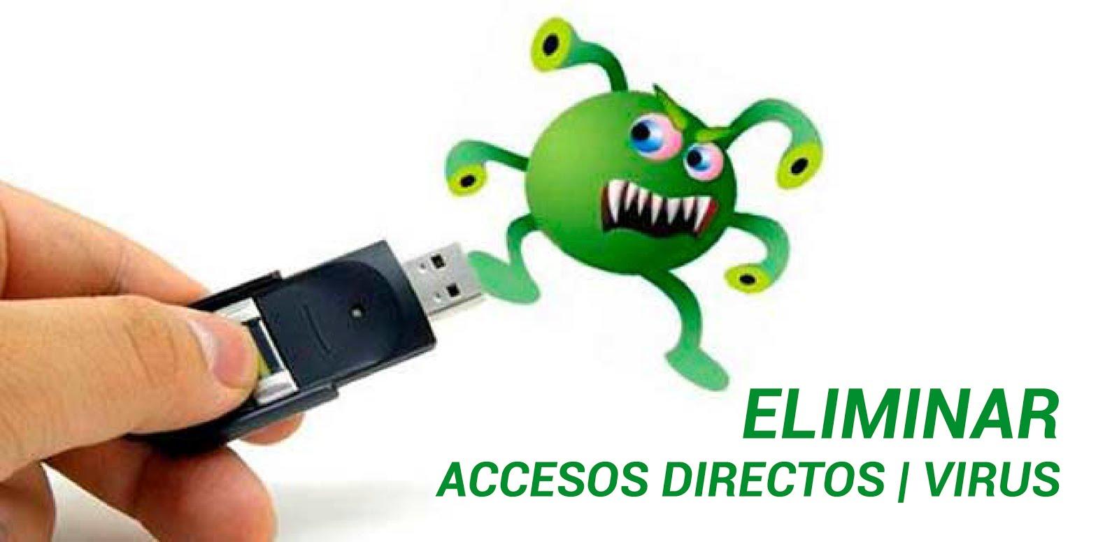 Eliminar virus de Acceso directo | Windows 10 | 2018