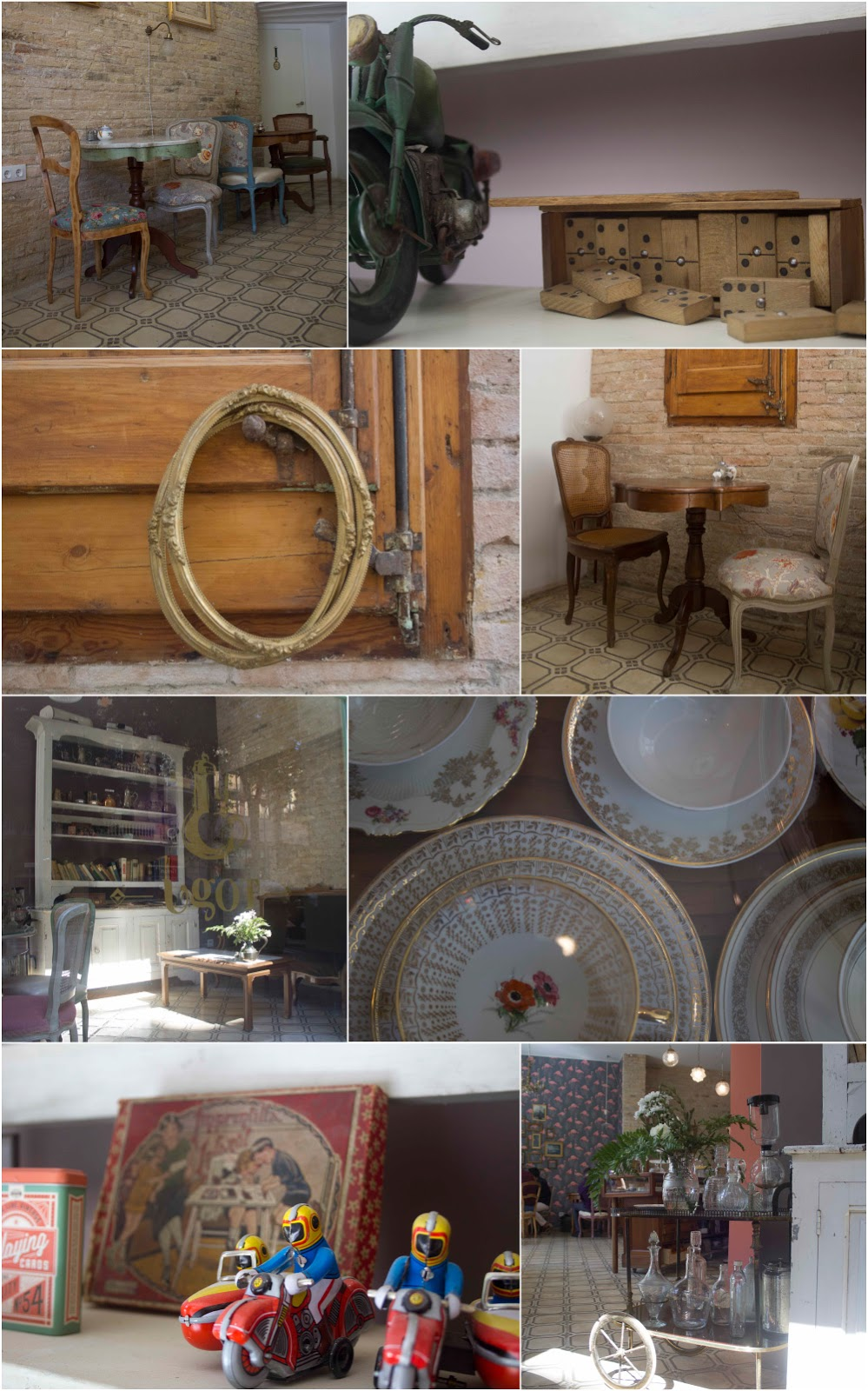 Objetos y detalles vintage en Ugot - Barcelona
