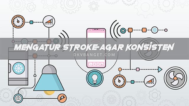 Mengatur Ukuran Stroke Objek Agar Konsisten Pada Adobe Illustrator
