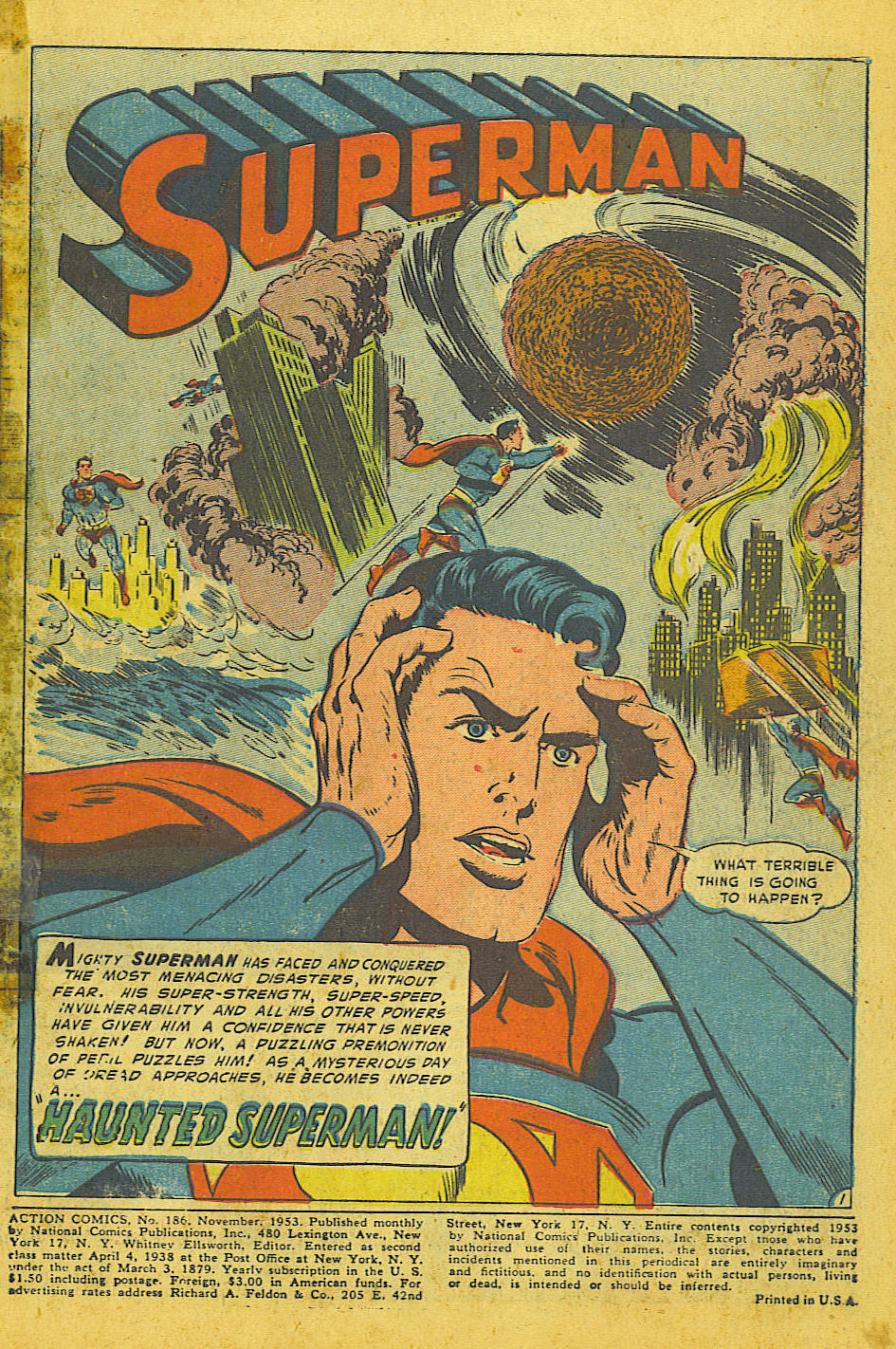 Read online Action Comics (1938) comic -  Issue #186 - 3