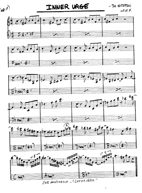 Partitura Flauta Joe Henderson
