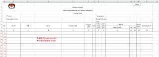 Cara MembuatFreeze Panes Excel