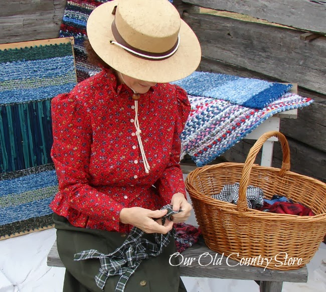 Our Old Country Store: Rag Rug Photo Shoot With Delta