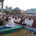 Bupati Bersama Ribuan Masyarakat Batubara Sholat Idula Adha 1437 H di Lapangan Indrasakti Air Putih.