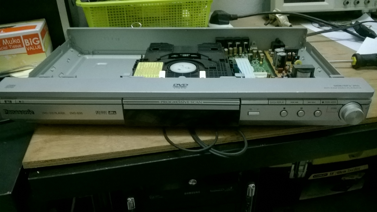 old panasonic dvd player dvd s35 not working troubleshoot the problem rh brianlifeandtech blogspot com Panasonic DVD Recorder Player Panasonic DVD Recorder Player
