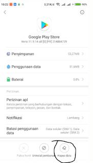 cara mengatasi google play store terhenti Terbaru