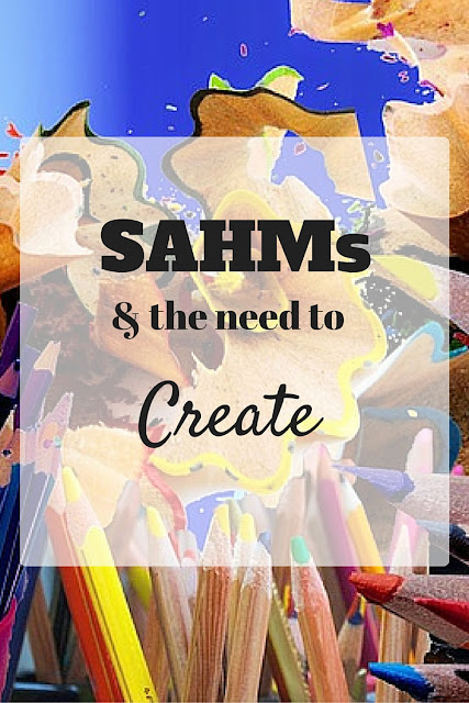 SAHM's and the Need to Create~ Almost four years ago, at the age of 33, I walked away from my teaching career, independence, and most aspects of my identity as I knew it...