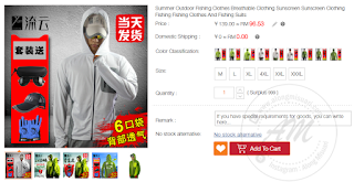 Summer Outdoor Fishing Clothes Breathable Clothing Sunscreen Sunscreen Clothing Fishing Fishing Clothes And Fishing Suits