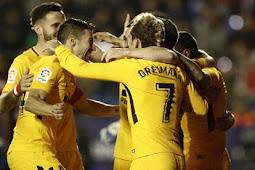 Cuplikan Gol Levante vs Atletico Madrid 0-5